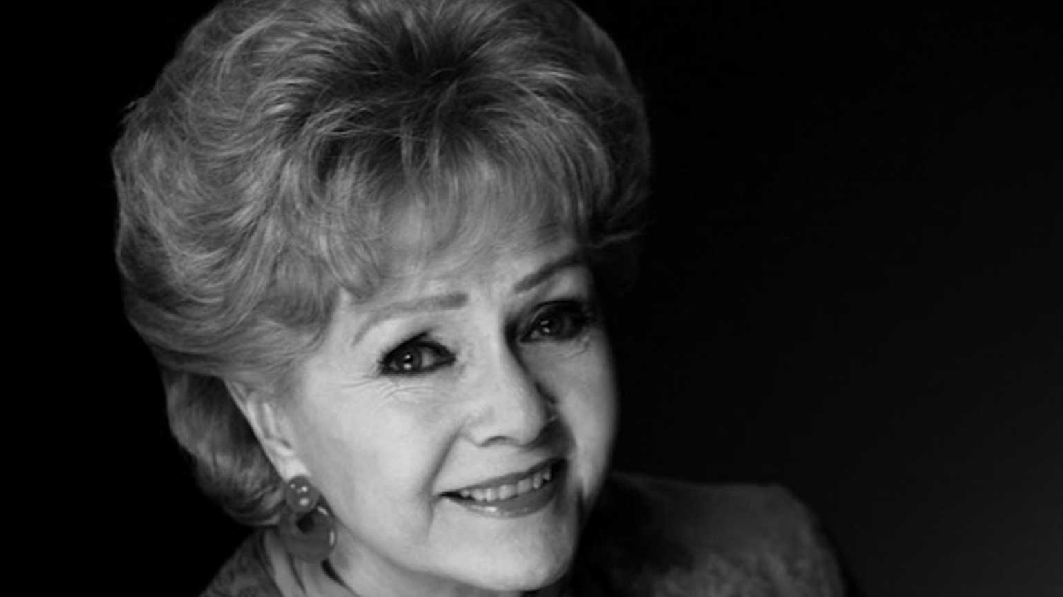 Actress and author Debbie Reynolds