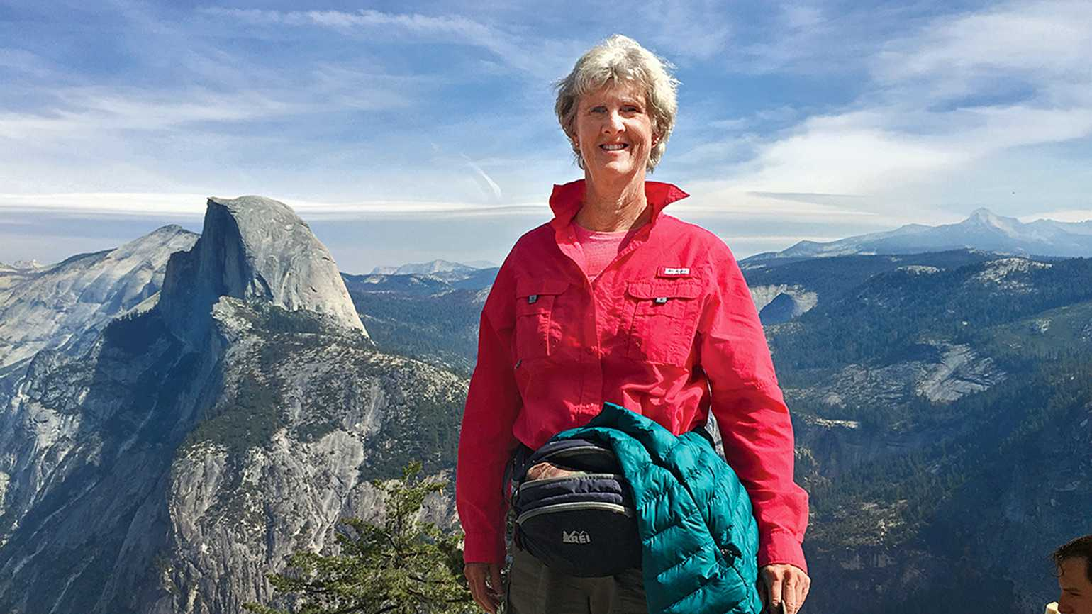 Jo-Anne Graham at Yosemite National Park