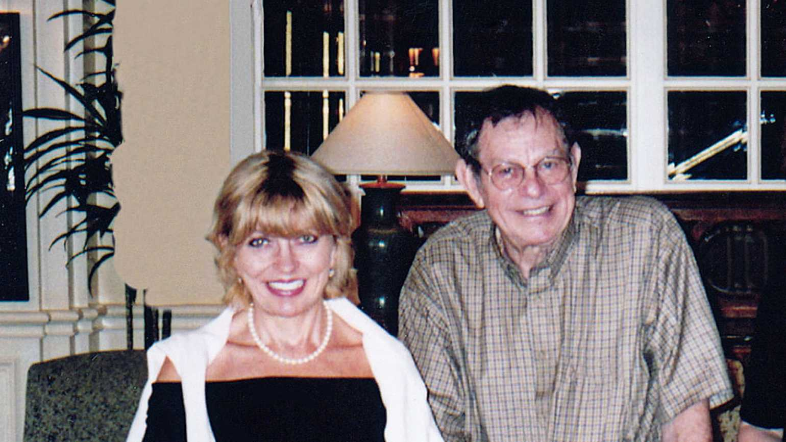 Kathy Schendle and her father