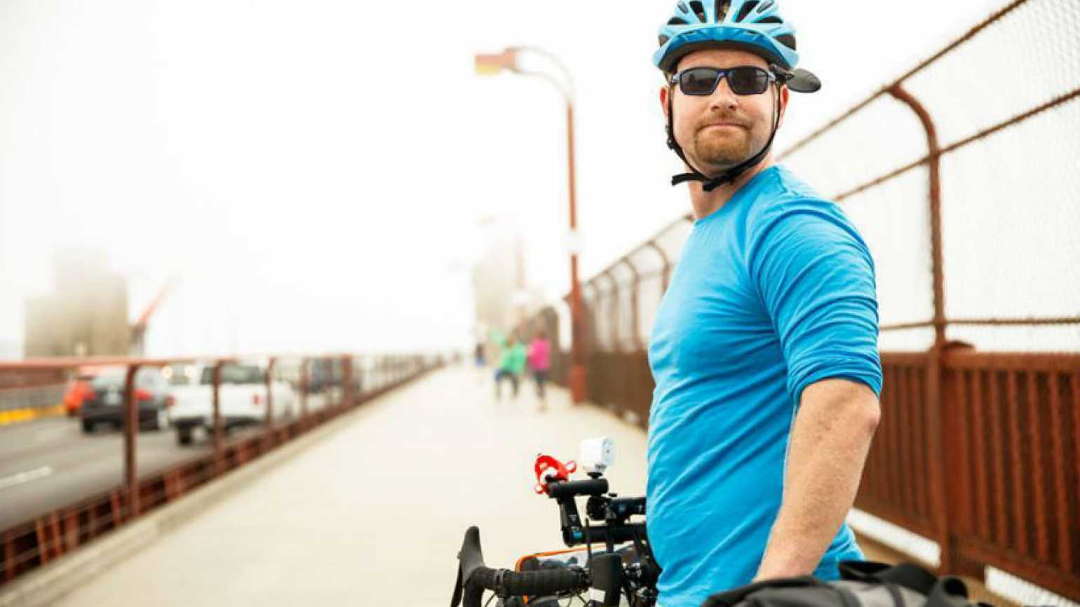 Sobriety Ride: Spencer Nee bikes for hope