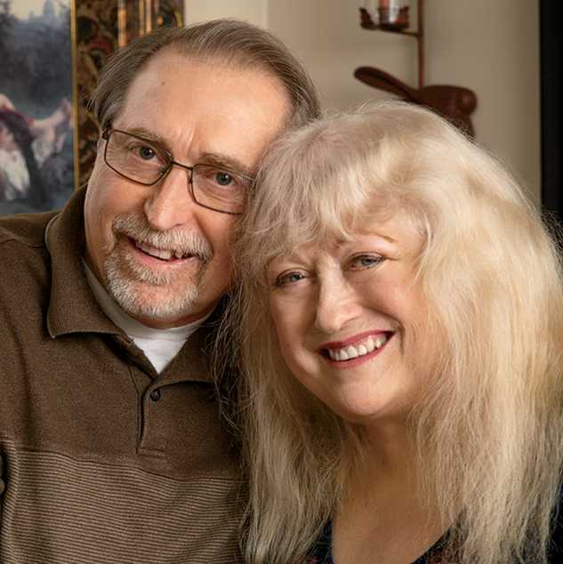 Kristy Dewberry with husband, Don; photo by Shevaun Williams