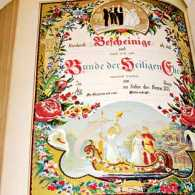 The German Bible that proved the answer to a family's prayer