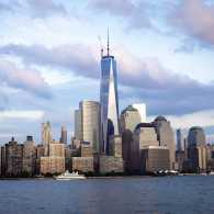 Freedom tower. 9-11, we never forget.