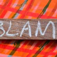 Stop the blame game. Photo 123RF(r)
