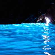 A visit to the Blue Grotto in Capri.