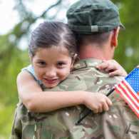April honors the Month of the Military Child.