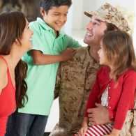 How to cope with change in a military family
