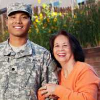 Parents of a soldier