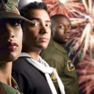 Military families and Independence Day