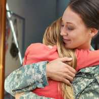 How to help single parents in a military family