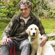 Guideposts Editor Edward Grinnan and his dog, Gracie.
