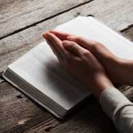 When it comes to prayer, best to keep it simple.