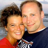 Stories of Faith guest blogger Cassidy Doolittle with her husband at the beach