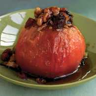 Cranberry-Walnut Baked Apples
