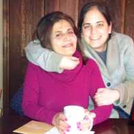 Mysterious Ways blogger Diana Aydin with her mother