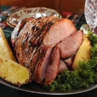 Dolly Parton's Hickory-Grilled Ham