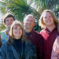 Outreach Ministries blogger Edie Melson and her family