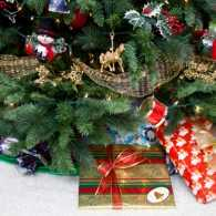 gifts under the Christmas tree