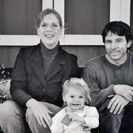 Erin and Jim with their daughter, Aurora Dawn