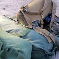 Bags packed for deployment