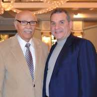 Pablo Diaz and his uncle, the Rev. Dr. Adolfo Carrion