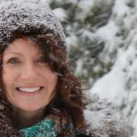 Shawnelle in the snow.