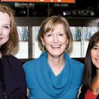 Joan Hill, Katie Mahon and Meb Phillips