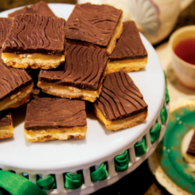 Sweet and Salty Caramel Squares