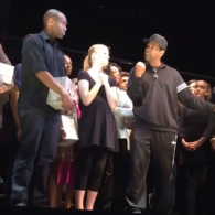 Denzel inspires young actors to protect their gifts.