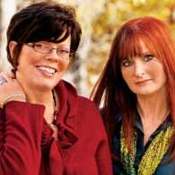 Jo Ann Fore (right) and her friend Karen