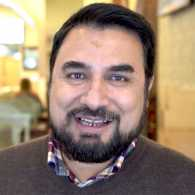 Mazi Kannan, owner of Washington, D.C.'s Sakina Halal Grill