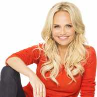 Actress, singer and breast-cancer research advocate Kristin Chenoweth