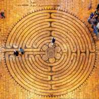 Labyrinth at Chartres Cathedral, France; Getty Images