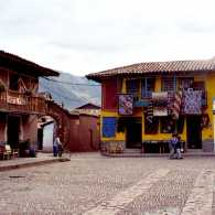 Písac, a Peruvian village in the Sacred Valley