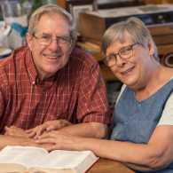 Norm and Candace Stolpe; photo by Mike Roemer
