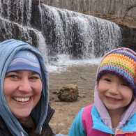 Colleen Radke and daughter Wynn; photo courtesy Colleen Radke