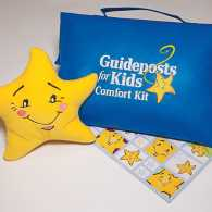 Schuyler Ossman and a Guideposts Comfort Kit