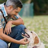 Guideposts: Randy Dexter and his service dog, Captain