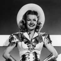 Singer and actress Dale Evans