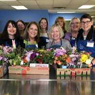 Childhood Friends Recycle Flowers for Seniors with Memory Loss
