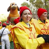 Ann Matturro Gault in her Macy's Thanksgiving Day Parade outfit