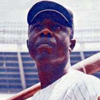 Baseball Hall of Famer Hank Aaron
