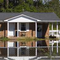 House flooded in the aftermath of Hurricane Florence
