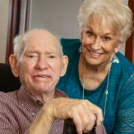 Joe and Judy Spence; photo by Shevaun Williams