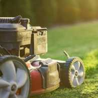 A lawnmower