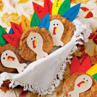 Guideposts: Turkey Cookies for Thanksgiving