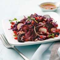 Paula Shoyer's Red Winter Salad