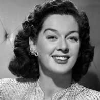 Actress Rosalind Russell