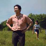 Steven Yeun in a scene from Minari