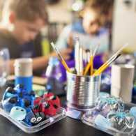 Kids upcycling; Getty Images
